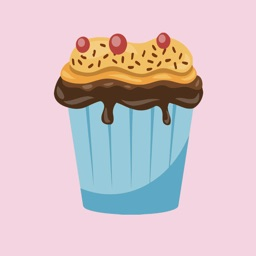 Cupcake Stickers - Yum!