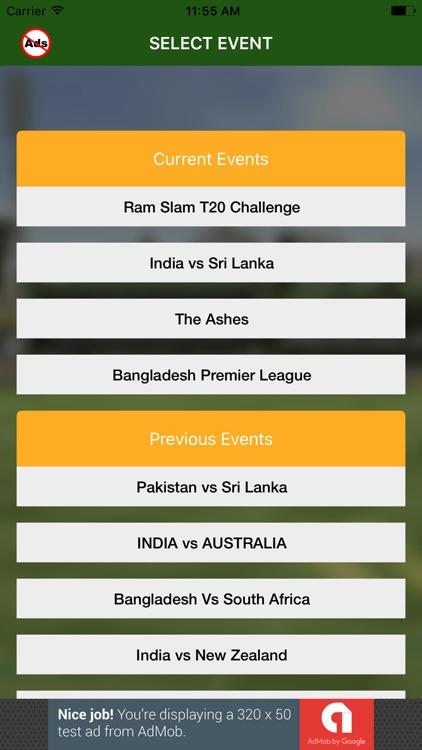 Cricket Predict and Win