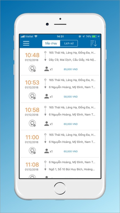 Screenshot for VIET MT - Tài Xế in United States App Store