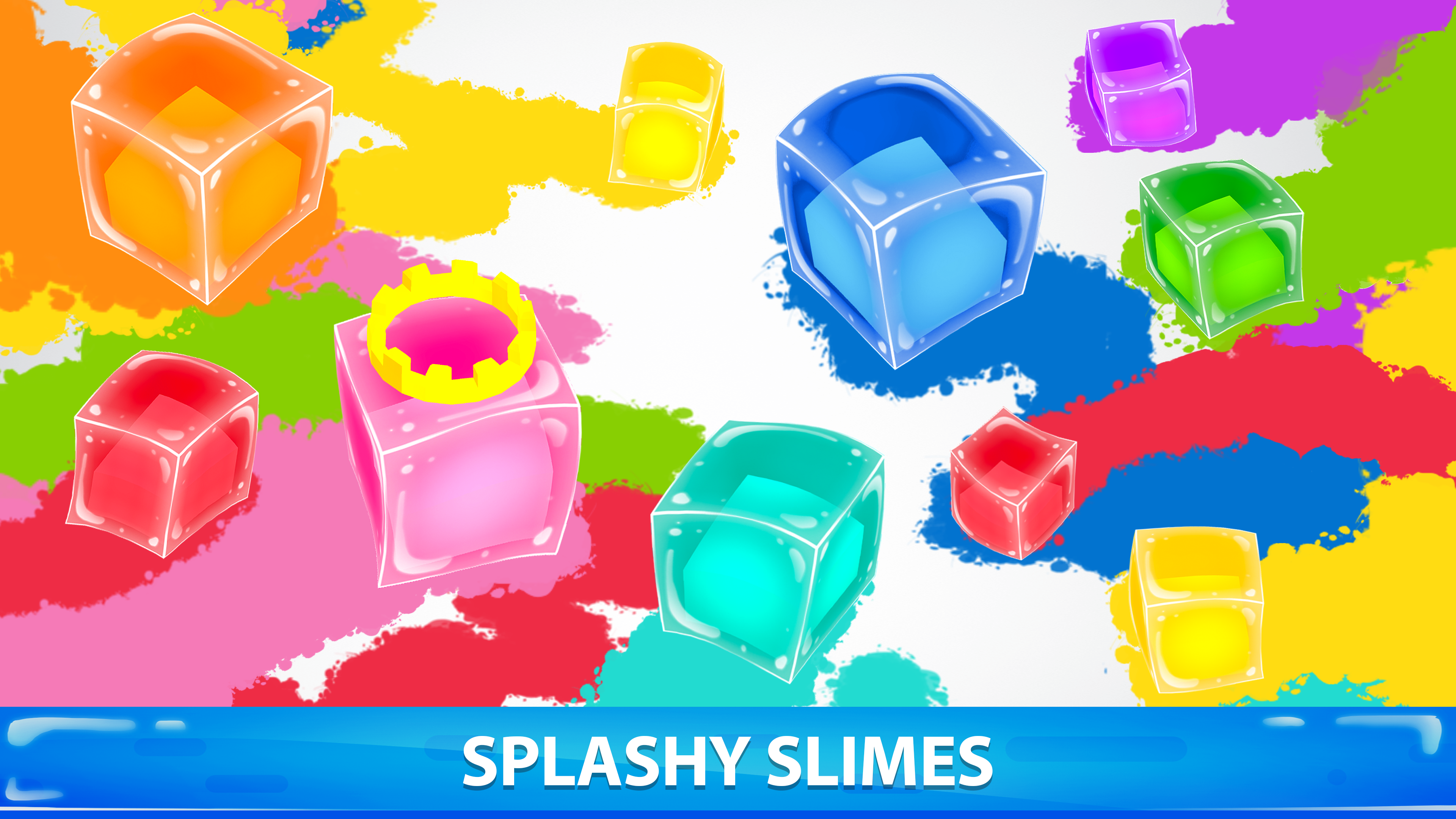 Slimes.io - 3D Color io game screenshot 12