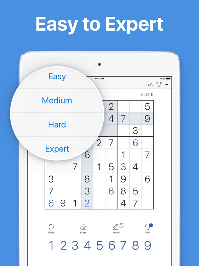 Sudoku classic puzzle game on the app store sudoku classic puzzle game on the app store ccuart Gallery