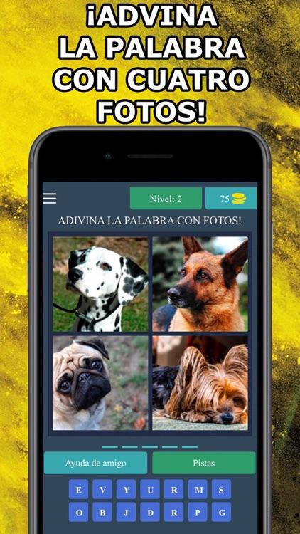 4 Fotos 1 Palabra en Español