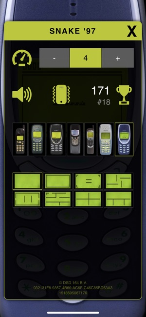 Snake '97: retro phone classic on the App Store