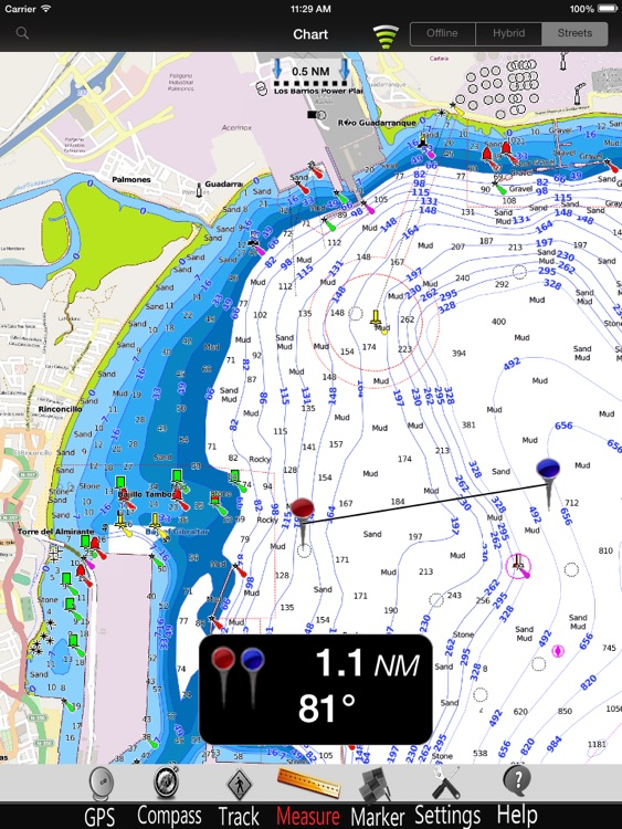 Andalusia Nautical Charts Pro