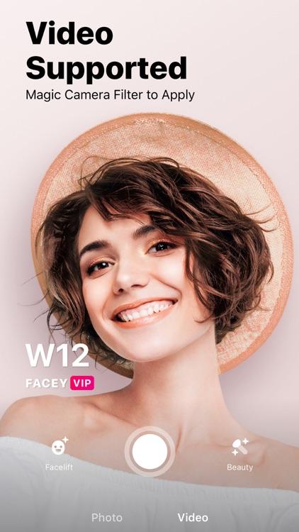 Facey: Face Editor &Makeup Cam screenshot-7