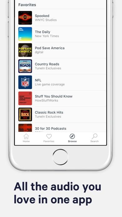 TuneIn Radio: NFL & Podcasts app image