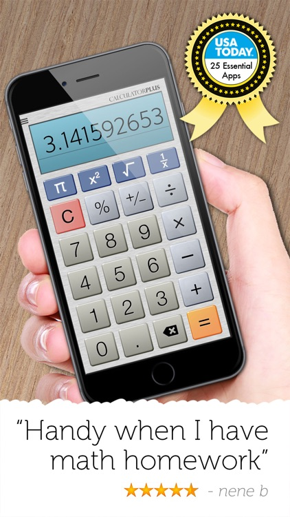 Calculator Plus - Full Screen screenshot-3