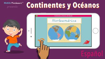 Continentes y Océanos screenshot 1