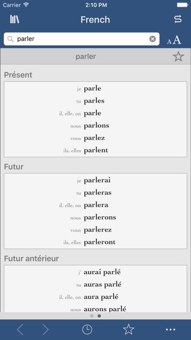 Ultralingua French screenshot two