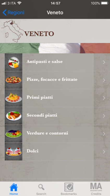 La Cucina Regionale Italiana screenshot-3