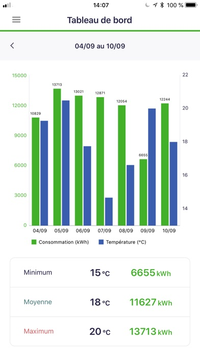 GreenFlex IQ Energie screenshot one