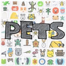 Pets-Virtual Message Stickers