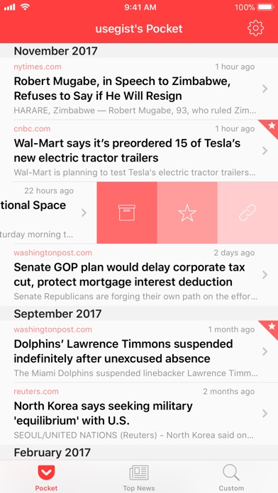 Gist - News Summaries screenshot1