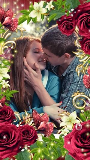 Romantic Love Photo Frame on the App Store