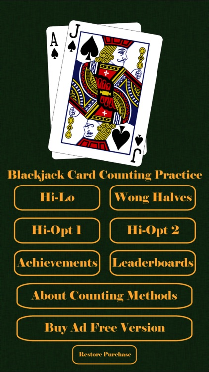 Blackjack Card Counting Practice screenshot-0