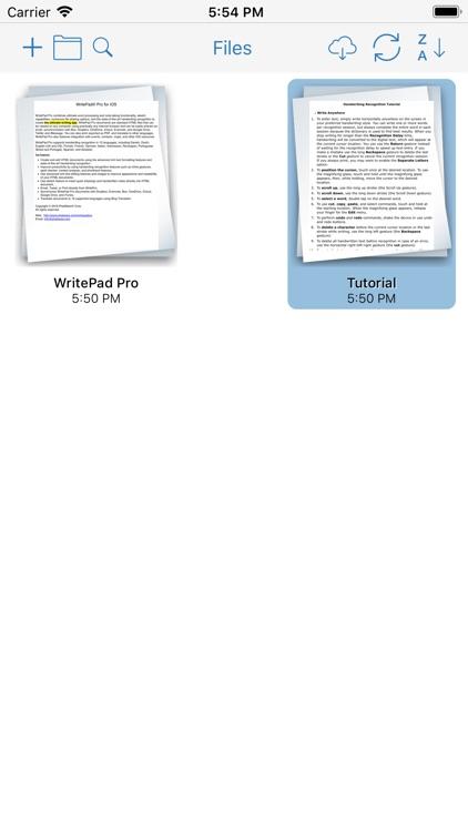 WritePad Professional screenshot-3