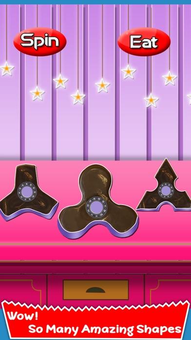 Chocolate Fidget Spinner Maker! Toy Finger Spinner screenshot four