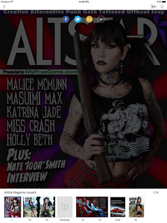 AltStar Magazine screenshot 6