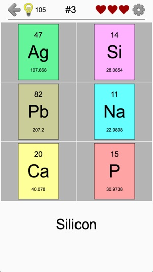 elements and periodic table on the app store rh itunes apple com