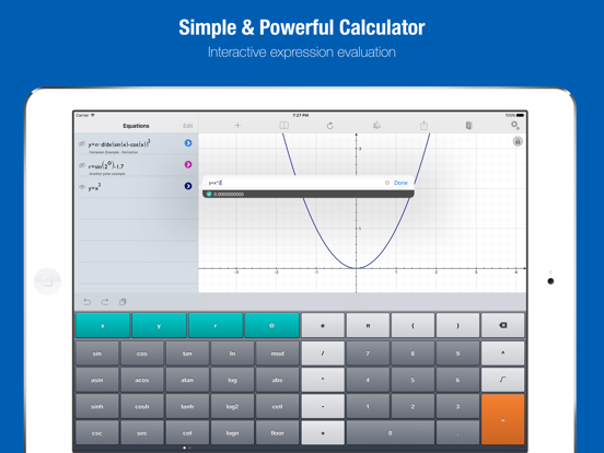 Quick Graph: Your Scientific Graphing Calculator screenshot