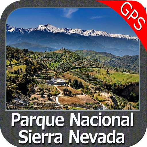 Parque Nacional Sierra Nevada - GPS Map Navigator