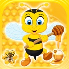 Flying Bee Honey Action Game icon