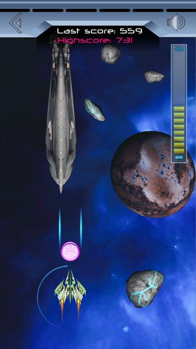 Spaceship Galaxy Flight Скриншоты4