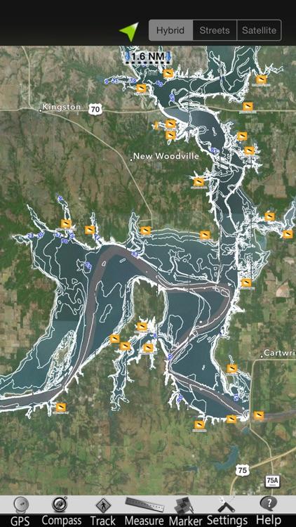 Lake Texoma Nautical Charts