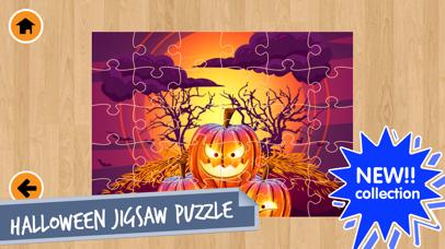 Halloween Jigsaw Puzzles Game! screenshot two