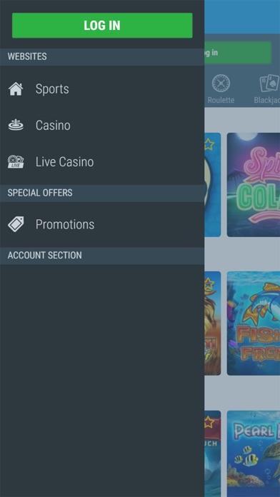 Sportingbet Online Casino screenshot two