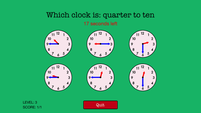 Quick Strike Clocks screenshot two
