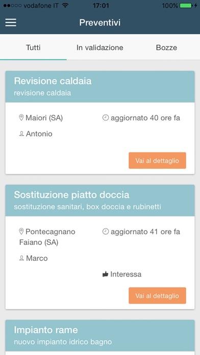 Screenshot of PreventivoAmico5
