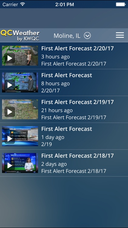 QCWeather - KWQC-TV6 screenshot-3
