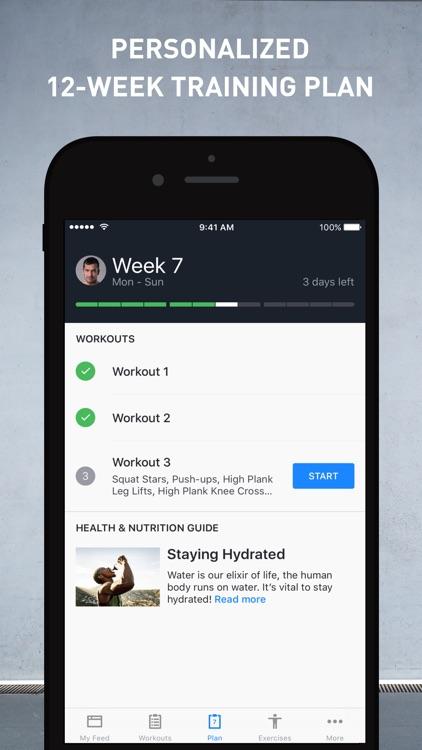 Runtastic Results Work Out App screenshot-0