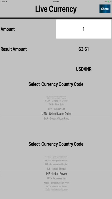 Currency Live | App Price Drops