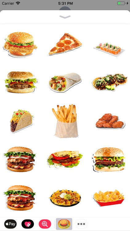 Real Food Stickers