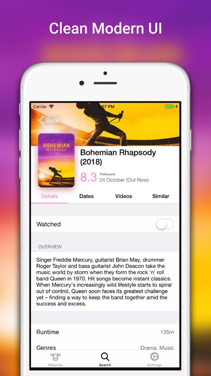 Moovies: Simple Movie List App