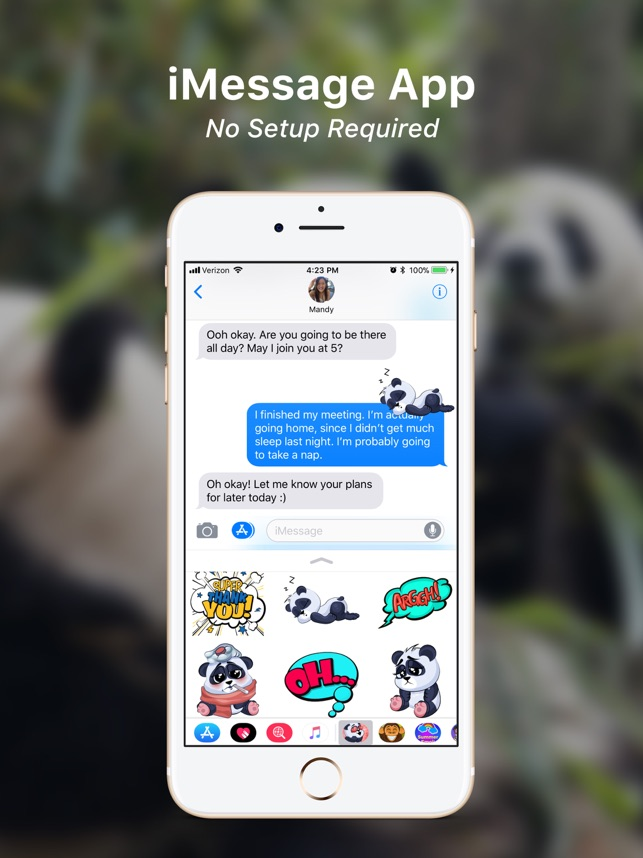 Panda Emoji! Screenshot