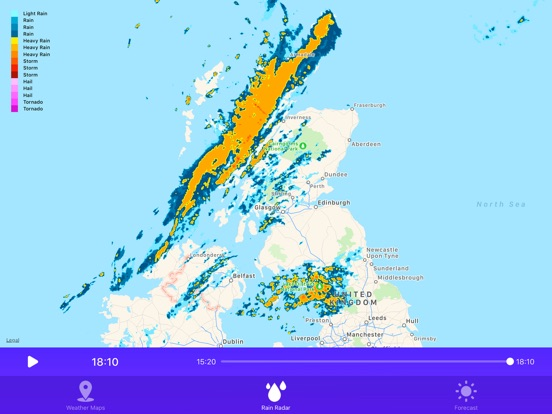 Rain Radar Weather Forecast