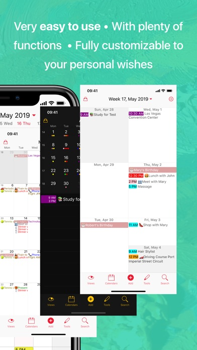 Week Calendar Screenshot 2