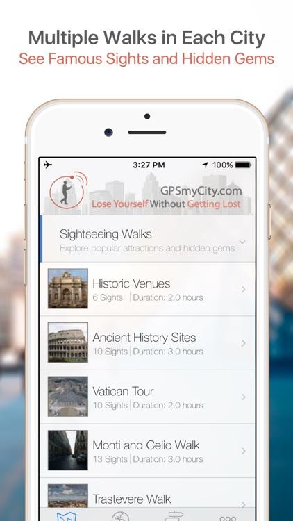 Zurich Map & Walks (F) screenshot-0