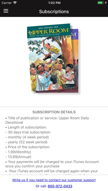Upper Room Daily Devotional screenshot-5
