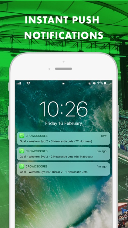 CrowdScores - Live Scores screenshot-3