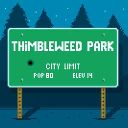 Ícone do app Thimbleweed Park