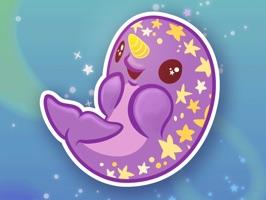 inki-Drop Starwhal Stickers