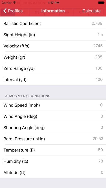 Long Shot (Ballistics Calc)