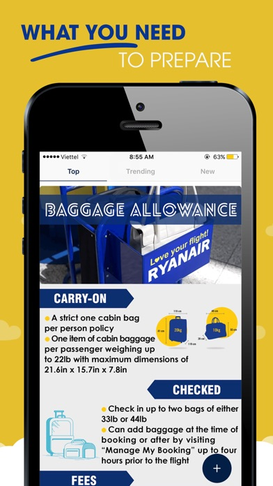 Q&A for RyanAir Airlines 2018 Screenshot on iOS
