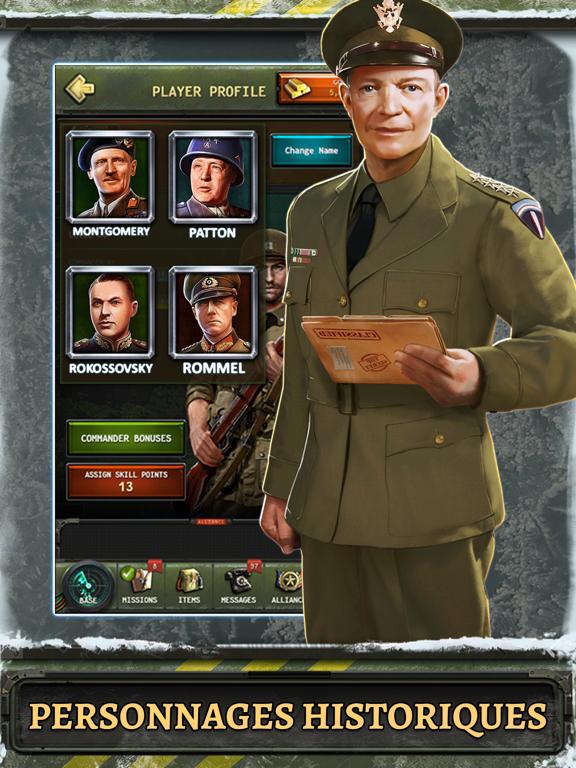 Screenshot #4 pour World at War: WW2 Strategy MMO