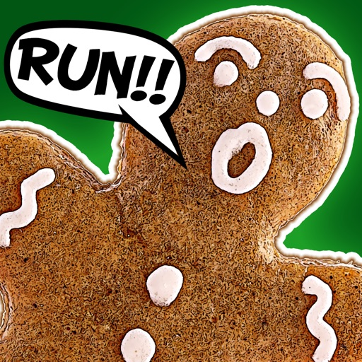 3D Christmas Gingerbread Run