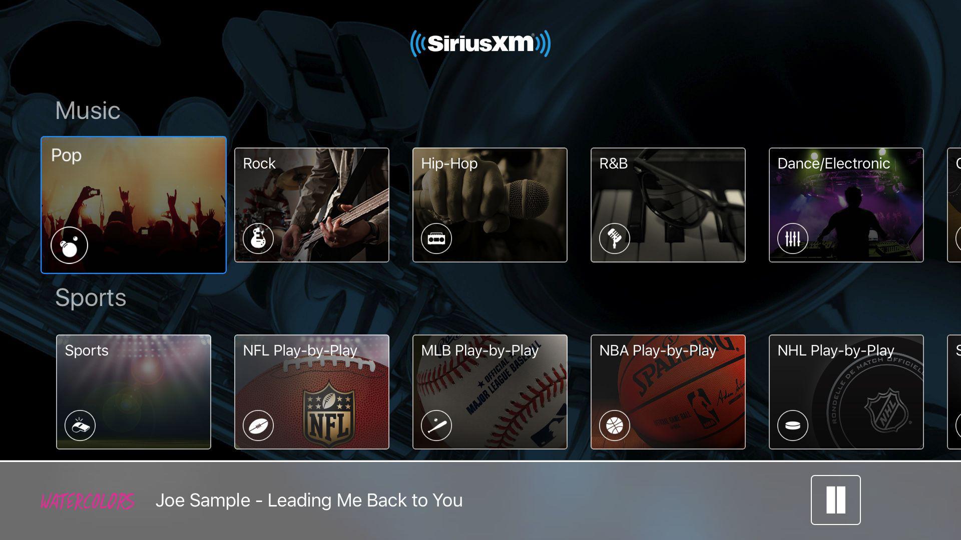 SiriusXM: Music, Radio & Video screenshot 3